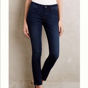 Anthropologie Pilcro Mid Rise Stet Ankle Jeans 26